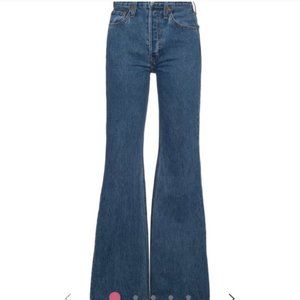 Re/Done High Break Flare bell bottom jeans
